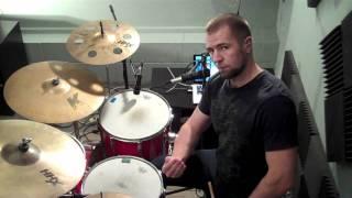 "How To Drum - James Brown ""Mother Popcorn"" Funky Drummer Part 2"