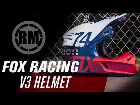 Fox Racing MVRS V3 Motocross Helmet