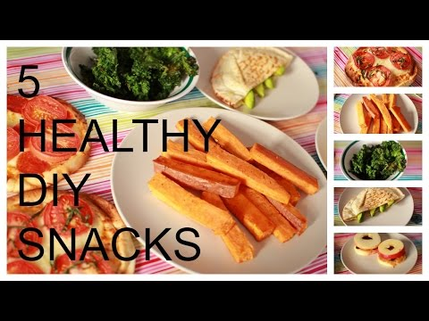 5 DIY Easy Fast Healthy lunch dinner breakfast ideas to help you lose weight!