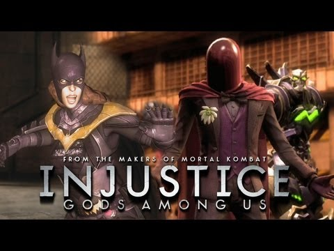Injustice: Gods Among Us - Batgirl vs The Joker Red Hood Gameplay [1080p] TRUE-HD QUALITY