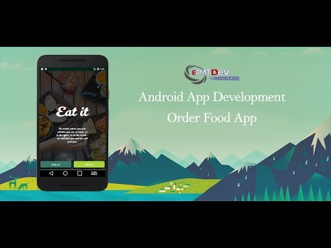 Android Development Tutorial - Order Foods Part 2 (User Panel and Menu Page)
