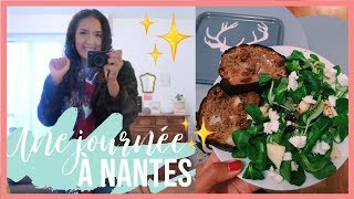 UNE JOURNÉE À NANTES & SOIRÉE CHILL   ENTREPRENEURES VLOG #35