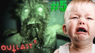 OUTLAST 2: THE MOST RIDICULOUS POP UP SCARE... (Part 5)