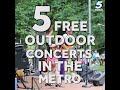 Oklahoma Fantastic Finds: 5 Outdoor Summer Concerts