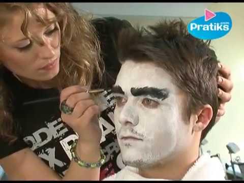 Comment faire un maquillage d guisement de vampire youtube for Comidee maquillage halloween adulte