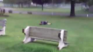 Jumping The Bench Fail Video
