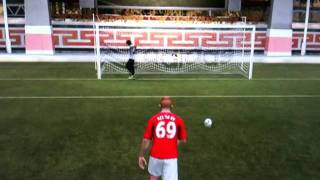 FIFA 12 Lazy goalie!