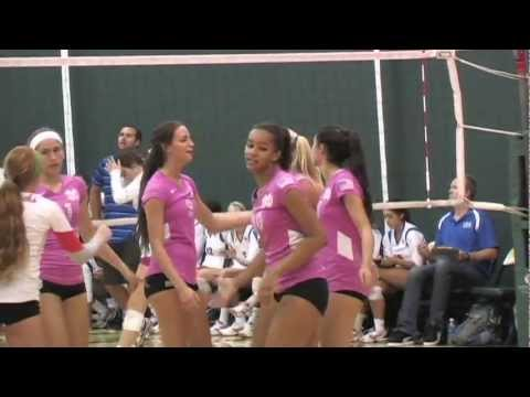 Mater Dei (ca) Hs Vs. Los Alamitos (ca) Hs - Girls Volleyball 2012 - Maxpreps video