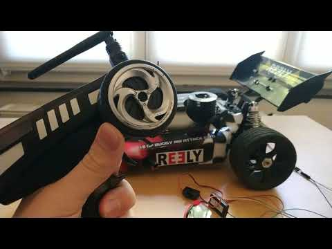 RC Car with Active Aero (and Airbrake)