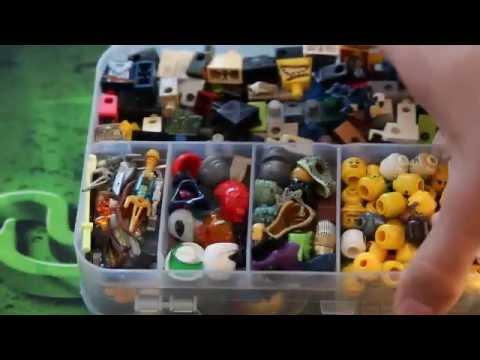 Мой Лего Кейс! Показ деталей и минифигурок! (обзор)