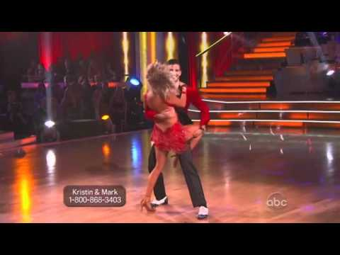 Kristin Cavallari and Mark Ballas Dancing with the Stars - samba