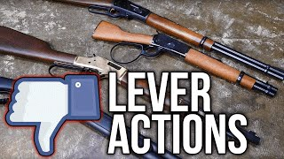 Why I Don't Like Lever Actions