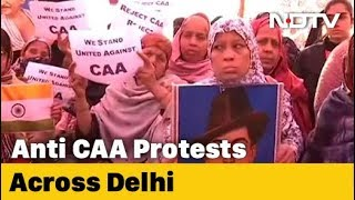 After Shaheen Bagh, Similar Protests Against CAA, NRC In Delhi