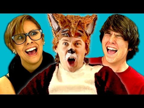 TEENS REACT TO YLVIS - THE FOX