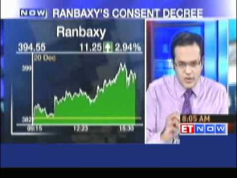 Ranbaxy announces consent decree with USFDA