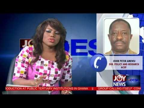 Ghana's Power Crisis - News Desk (3-2-15)