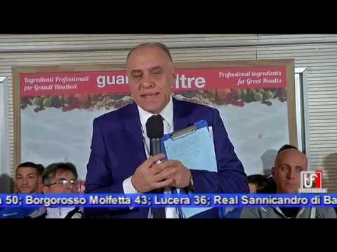 Spazio Dilettanti su TELEFOGGIA da San Ferdinando Di Puglia 15-3-19