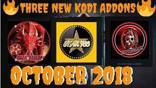 Three New KODI Addons for October 2018 [sTAR-Tec , Magic Dragon , Supremacy]