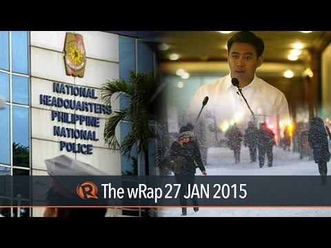 PNP-SAF chief, Junjun Binay, US blizzard | The wRap
