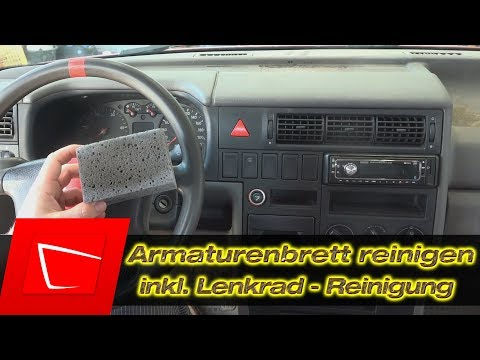 Armaturenbrett reinigen - Lenkrad reinigen - Sonax CockPit Star Surf City Garage Dash Away