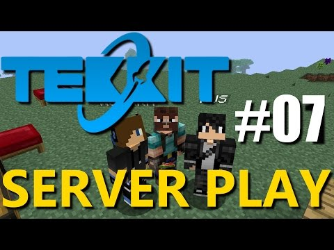 Tekkit Server Play - Part 7 : Enderman Spawner!