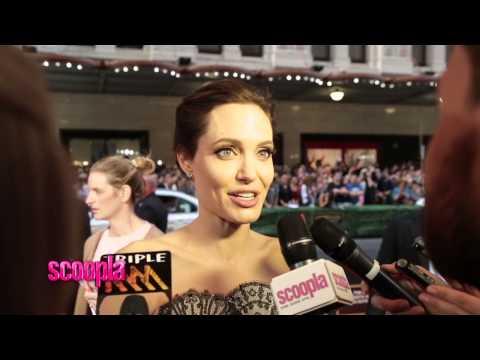 Angelina Jolie – FULL INTERVIEW