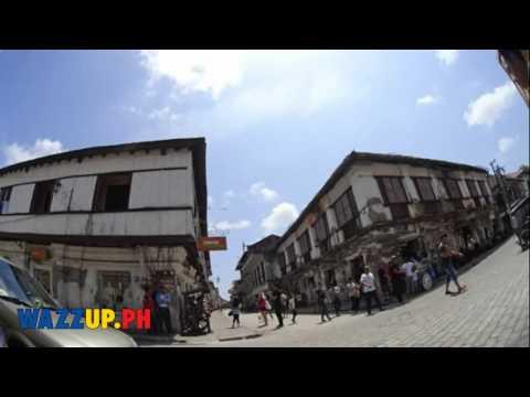 Sony ActionCam AZ1 Timelapse at Calle Crisollogo Street Vigan Ilocos Sur