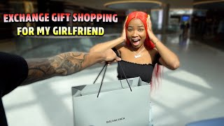 EXTREME GIFT EXCHANGE SHOPPING FOR MY GIRLFRIEND!