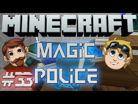 Minecraft Magic Police #33 - Surprise Gift (yogscast Complete Pack) video