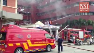 Fire erupts at JB's Sultanah Aminah hospital, six patients dead