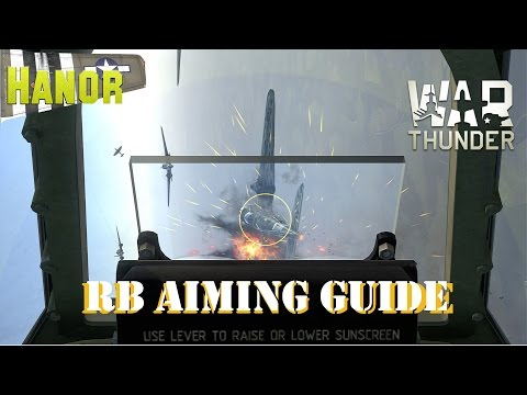How to Aim in War Thunder (RB Planes)