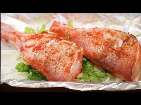 Запеченный морской окунь в мультиварке/быстро, вкусно, полезно#видеорецепт