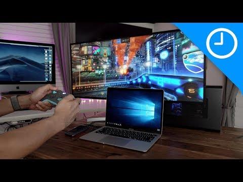 2018 MacBook Air Windows 10 RTX 2080 eGPU gaming setup!