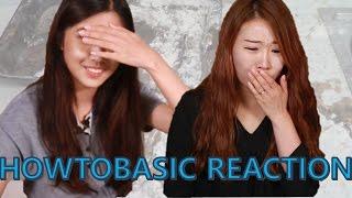 Koreans react to HOWTOBASIC
