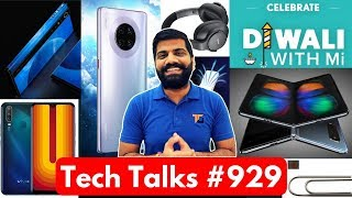 Tech Talks #929 - OnePlus 7T Box, Mi Mix Alpha 108MP, Samsung GH1 43 7MP, vivo U10, Galaxy Fold