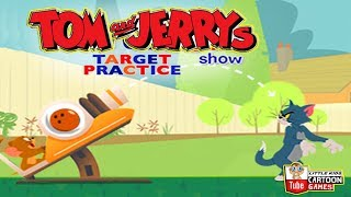 Tom and Jerry - Target Practice. Fun Tom and Jerry 2018 Games. Baby Games  #littlekids