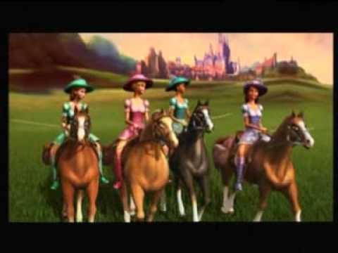 Barbie y las 3 mosqueteras trailer