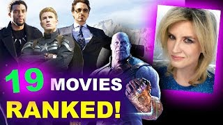MCU Movies Ranked - All 19, Worst to Best, Infinity War!