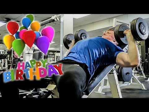 Birthday Chest Workout, 2 Years Later, & Quesadillas video