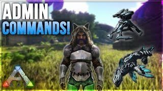 Ark: Survival Evolved - How To Use Admin Commands! (Xbox One)