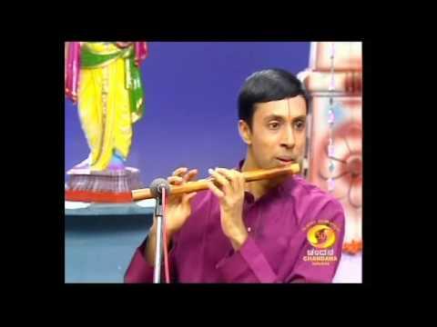 Karnatak Classical Flute-V Vamshidhar-shankarabharana Krithi.avi