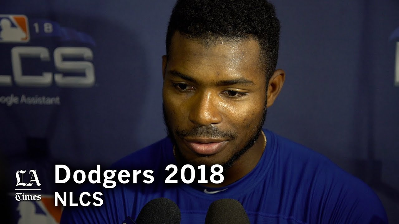 Dodgers NLCS 2018: Yasiel Puig on going 2 for 2 in the NLCS and going to Milwaukee with the lead