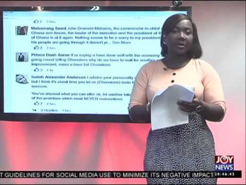 Matters arising in Ghana - Joy News Interactive (28-4-16)