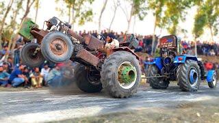 ਝੋਟੇ ਨੇ ਤਾਂ ਖਲਾਰਾ ਪਾਤਾ || Mahindra Jhota Vs Sonalika 750 || Tractor Tochan