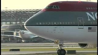 Northwest Airlines 747-251B N613US at Philadelphia International Airport
