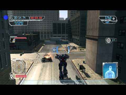 Transformers 2 Revenge Of The Fallen Optimus Prime Gameplay Mission Escort