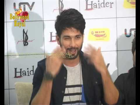 Shraddha Kapoor, Shahid Kapoor at Music Premier of 'Haider' at Radio Mirchi  1