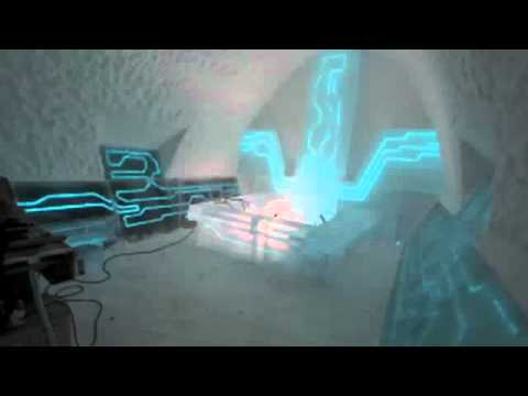 Disney s Tron inspired suite  Legacy of the River   Ben Rousseau + Ian Douglas - Jones