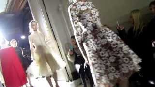 Valentina Nessi at VALENTINO Haute Couture Fashion Show Spring Summer 2013   Front Row VIDEO