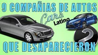 9 Compañías de Autos que Desaparecieron (Parte 2) *CarsLatino*